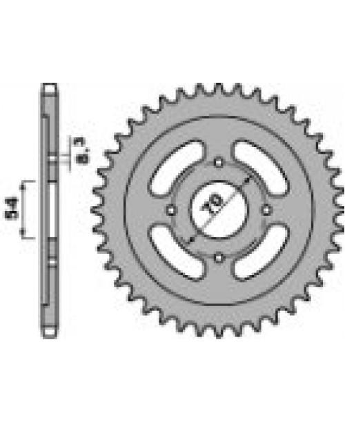 Звезда Приводная передняя PBR YAMAHA Z14 18NC C.428