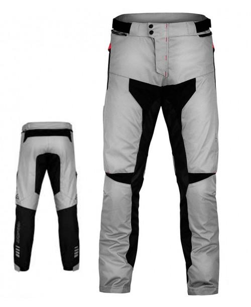 Штаны ACERBIS ADVENTURE цвет: серый/черный, размер : XXXL