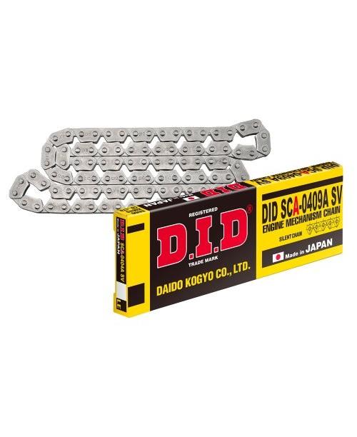 Цепь распредвальная  DID SCA0409A SV (бухта 1143 зв) цена за 1 звено