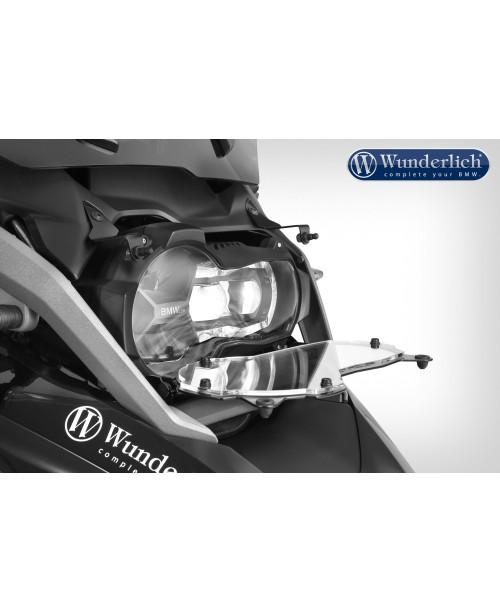 Защита Фары прозрачный откидной - Headlight protector Clear Protect, foldable - clear R1200GS LC (2017-)