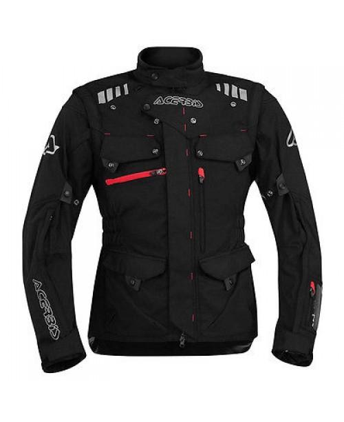 Куртка ACERBIS ADVENTURE цвет: черный,  размер: XXXL