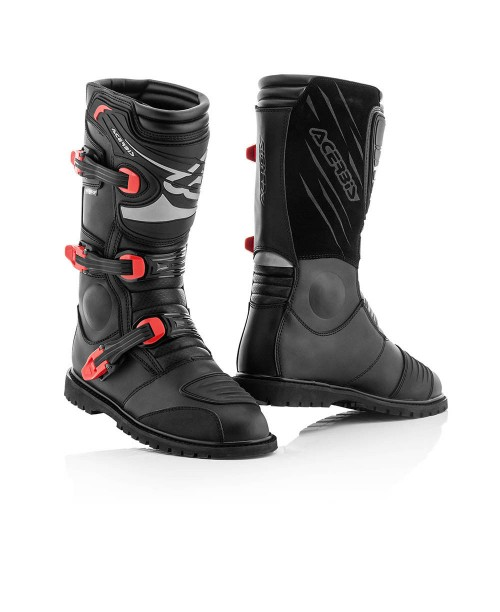 Ботинки ACERBIS ADVENTURE  цвет: черный, размер: 44