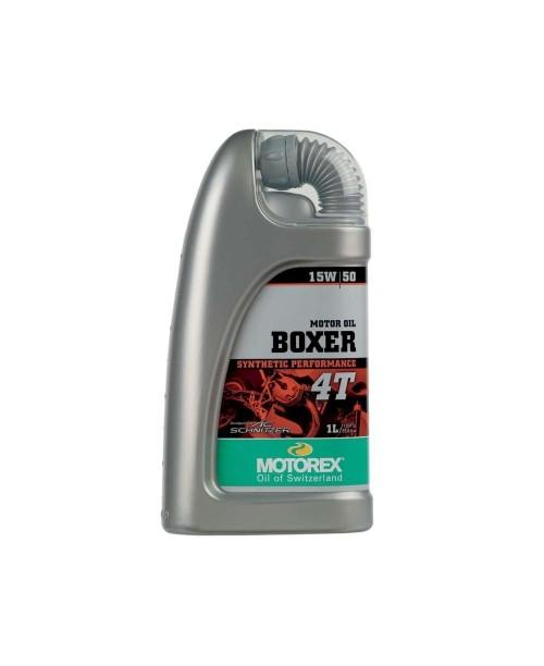 Масло MOTOREX 4T 15W50 Boxer Синтетика  1 л