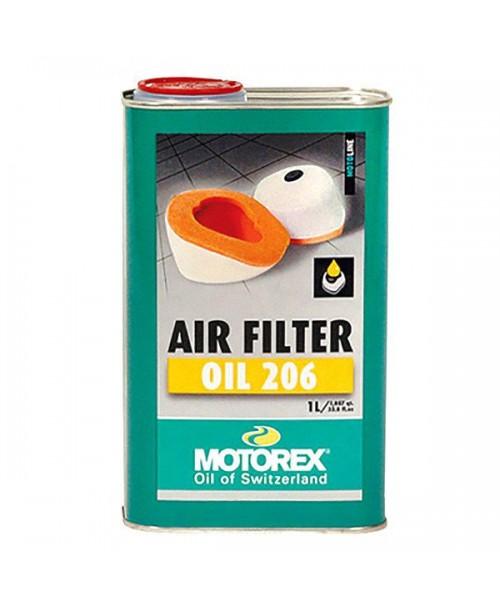 Масло MOTOREX воздушного фильтра MOTOREX 206 1л