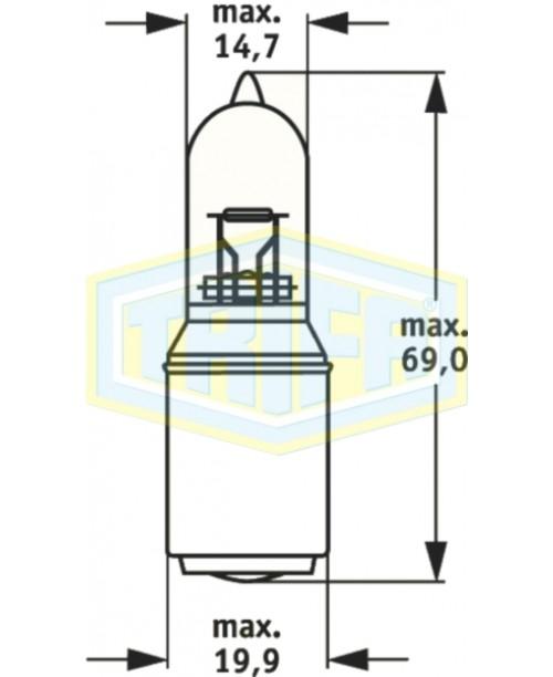 Лампа Trifa S2 32/35W BA20D