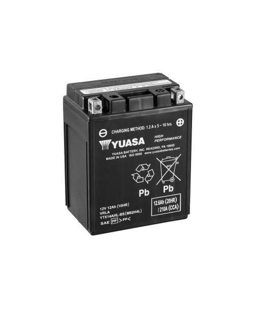 Аккумулятор YTX14AHL-BS Yuasa 210AH 134x89x166 -/+