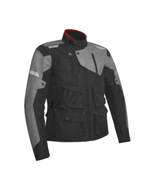 Куртка ACERBIS DISCOVERY SAFARY, Черн/Серый, размер:  L