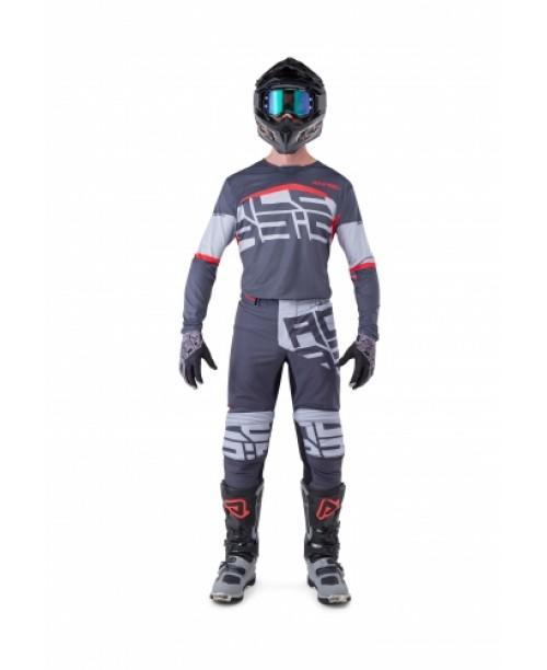 Джерси ACERBIS MX Черн-FIRE X-FLEX N. Черн/Серый L