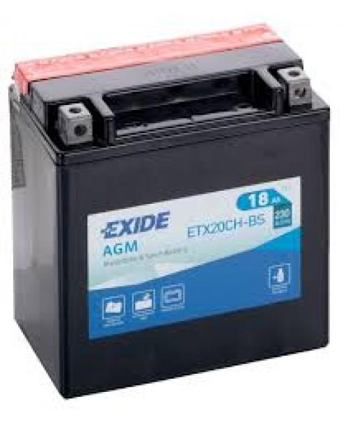 Аккумулятор YTX20CH-BS EXIDE