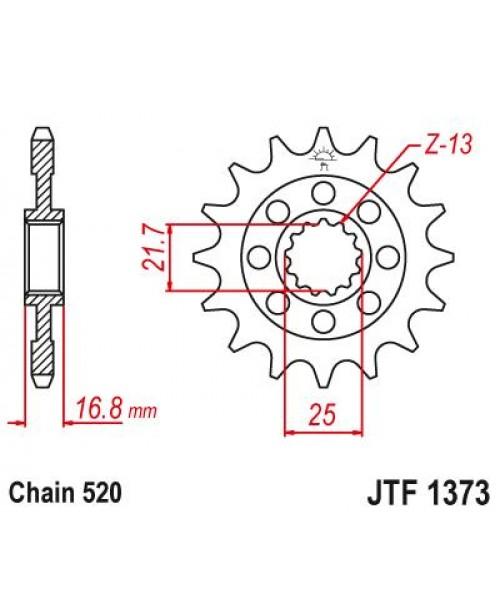 Звезда Приводная  передняя Honda JTF1373.17