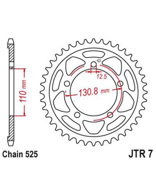 Звезда приводная задняя BMW S1000 RR 09-11 JTR7.44ZBK
