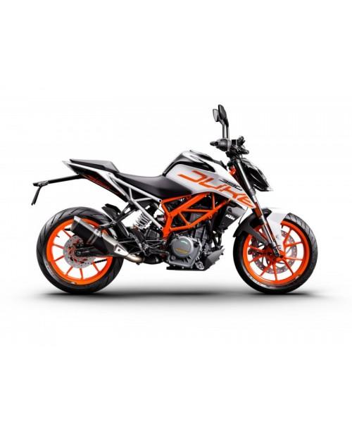 Мотоцикл KTM 390 Duke, white  2020