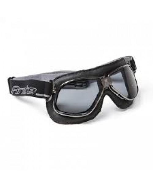 Очки винтажные ARIETE , BLACK LEATHER, R