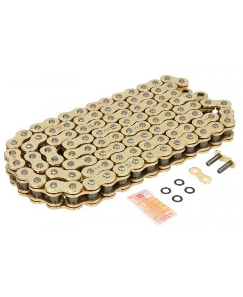 Цепь приводная DID  525 ZVMX Gold & Gold (цена за 1 звено)
