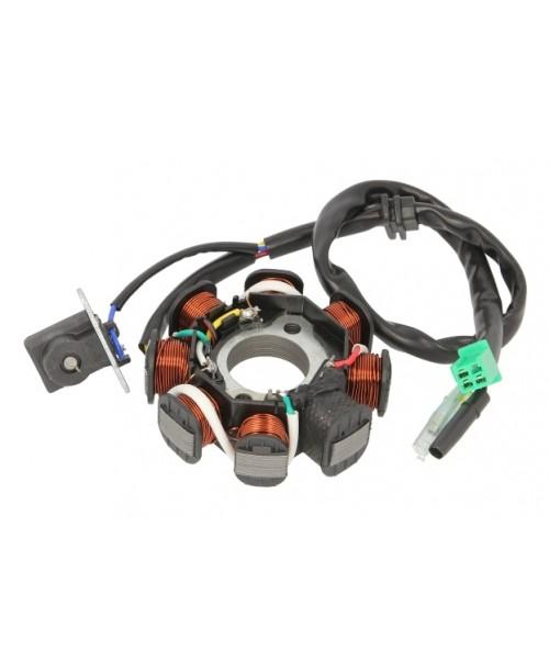 Статор генератора скутер китай GY6 125/150 8, катушек для VS50 QT-3