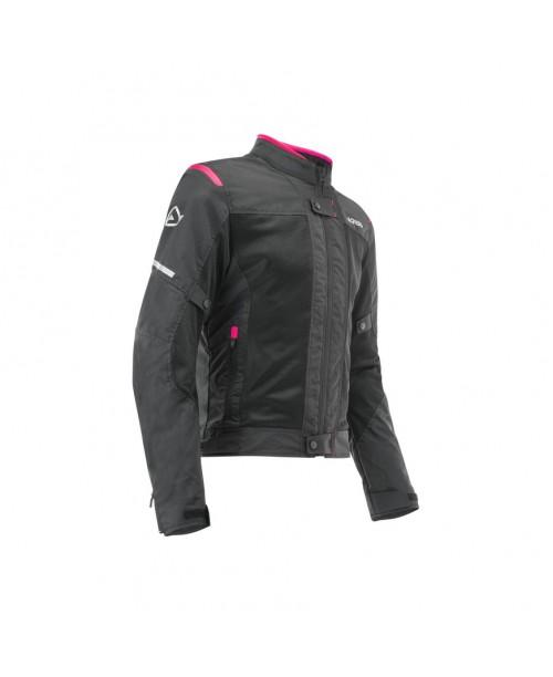 Куртка ACERBIS RAMSE VENTED 2.0  женская, цвет черно/розовый , размер XS
