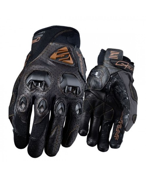 Перчатки Five Gloves STUNT EVO LEATHER AIR BROWN 10 L