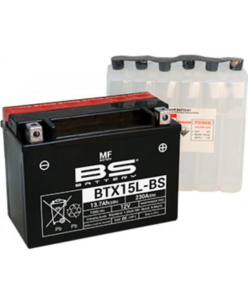 Аккумулятор YTX15L-BS BS BATTERY BS-BTX15L-BS