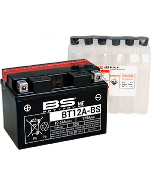 Аккумулятор YT12A-BS BS BATTERY BS-BT12A-BS