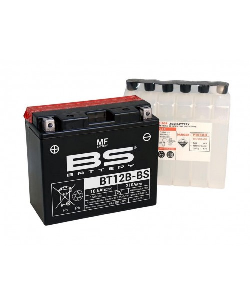 Аккумулятор YT12B-BS BS BATTERY BS-BT12B-BS