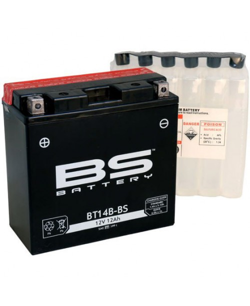 Аккумулятор YT14B-BS BS BATTERY BS-BT14B-BS