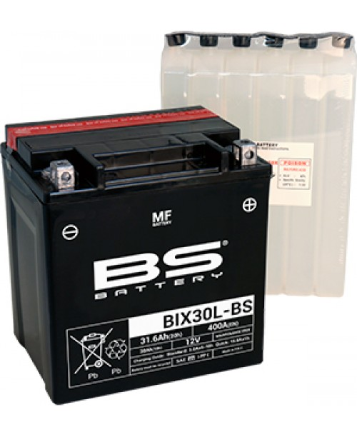Аккумулятор YIX30L-BS BS BATTERY BS-BIX30L-BS