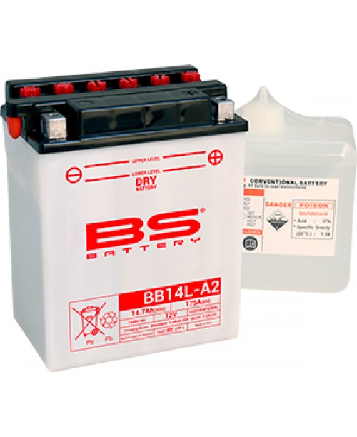 Аккумулятор YB14L-A2 BS BATTERY BS-BB14L-A2