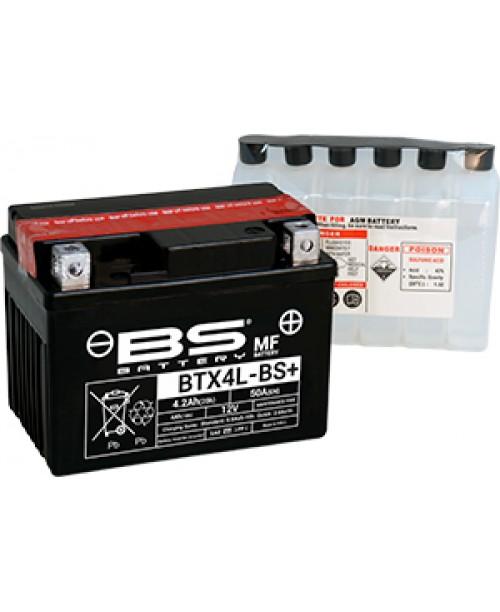 Аккумулятор YTX4L-BS BS BATTERY BS-BTX4L-BS