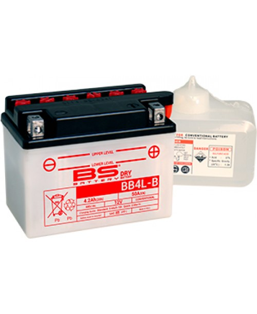 Аккумулятор YB4L-B BS BATTERY BS-BB4L-B