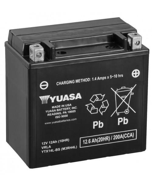 Аккумулятор YTX14L-BS YUASA