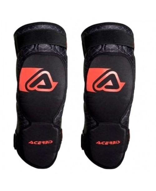 Наколенники ACERBIS X-KNEE GUARD SOFT ADULT N. BLACK/RED