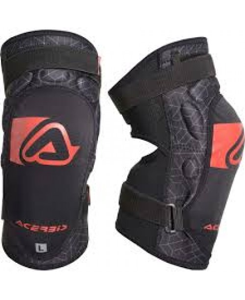 Наколенники детские ACERBIS X-KNEE GUARD SOFT JUNIOR N. BLACK/RED