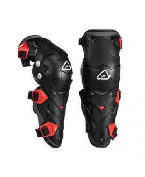 Наколенники детские ACERBIS  IMPACT EVO JUNIOR N. BLACK/RED