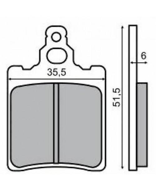 Тормозные колодки BREMBO SYSTEM