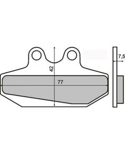 Тормозные колодки BULTACO 50-75