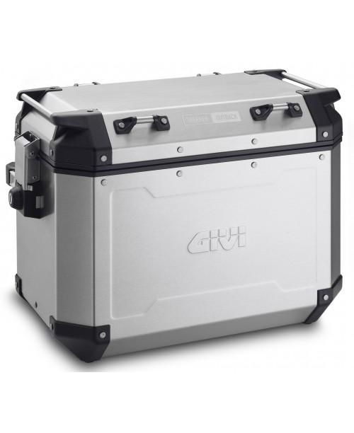 Кофр GIVI Trekker Outback правый 48 литров  Аллюминиевый некрашеный OBKN48AR