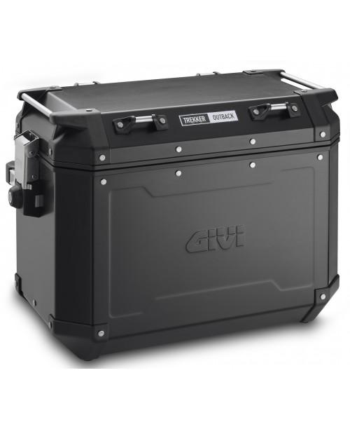 Кофр GIVI Trekker Outback правый  48 литров  Аллюминиевый черный OBKN48BR