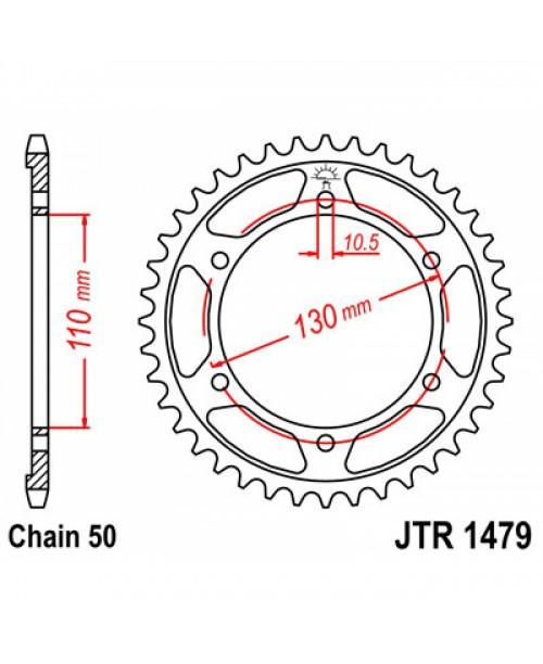Звезда приводная задняя JT Sprockets JTR1479.47
