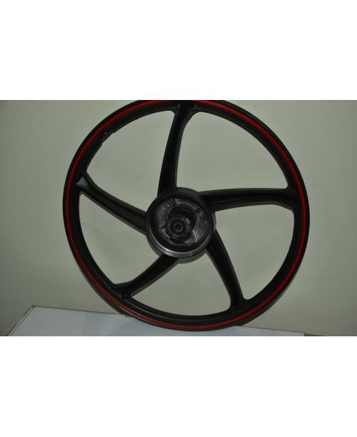 Диск колесный передний  Delta 50/110 cc черный KRC50-01-04