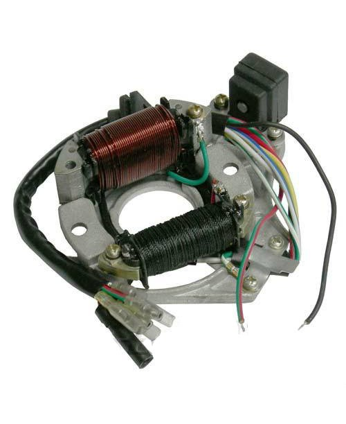 Статор генератора Delta Alpha 50cc 4t  - 2 катушки  KRC50E-18-06