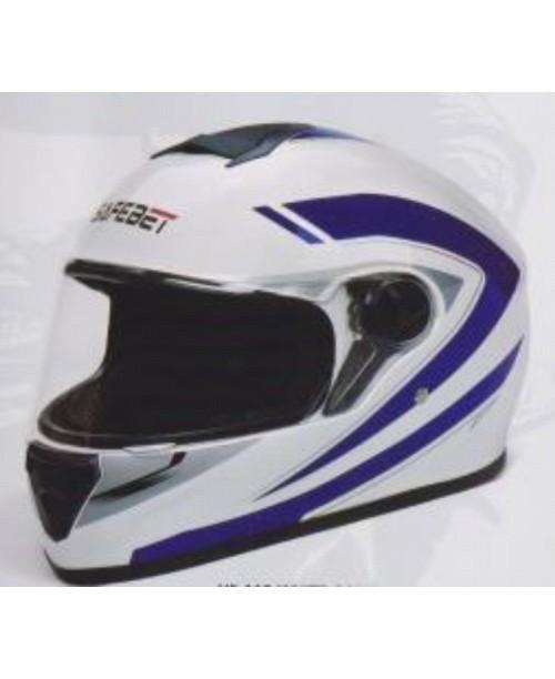 Шлем SAFEBET HF-112 интеграл  белый Q227 разм M