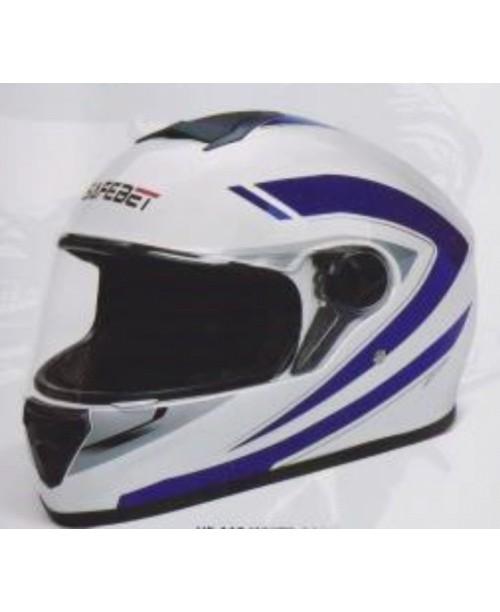 Шлем SAFEBET HF-112 интеграл  белый Q227 разм XL