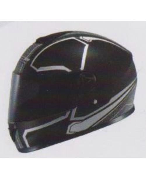 Шлем SAFEBET HF-112 интеграл  черный мат Q217разм XL