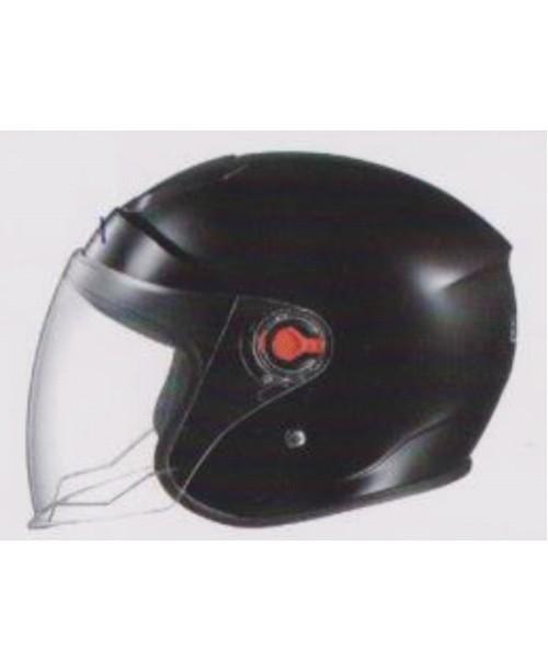 Шлем SAFEBET HF-215 скутерный черный   разм M