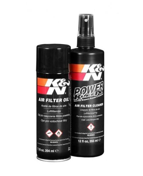 Комплект для обслуживания Воздушного фильтра K&N  смазка и средство для чистки