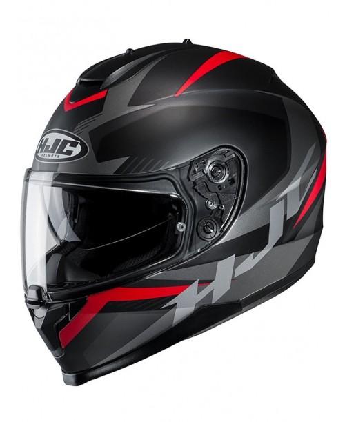 Шлем HJC C70 TROKY BLACK/RED XL