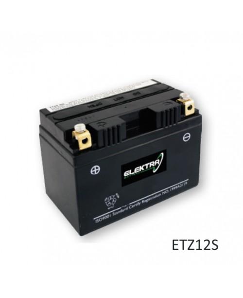 Аккумулятор TTZ12S ELEKTRA BATTERY ETZ12S (FA) с завода активированый