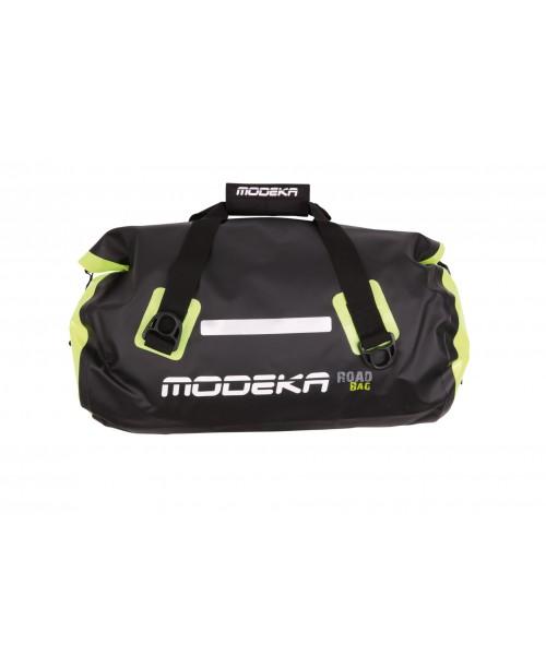 Сумка дорожная MODEKA ROAD BAG 30л Waterproof, black/Yellow