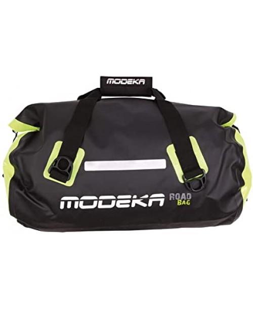 Сумка дорожная MODEKA ROAD BAG 60л Waterproof, black/yellow