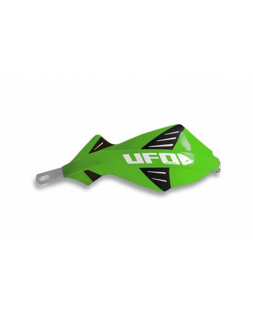 Защита рук UFO DISCOVER  с алюминиевым каркасом , для руля диам 22 мм, цвет зеленый
